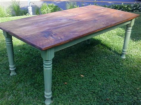 how to a farm table the farm table co custom made farm