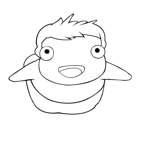 Ponyo Coloring Pages coloring ponyo