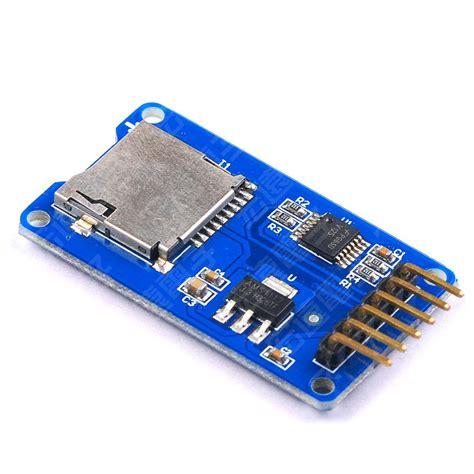 integrated circuit memory cards 1pcs micro sd card mini tf card reader module spi interfaces with level converter chip for