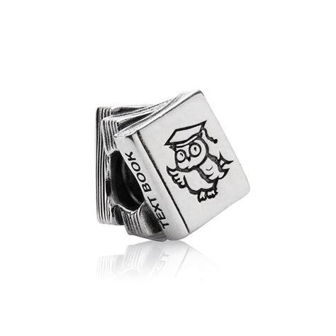 Pandora Charm P 670 pandora silver study books charm 790536 greed jewellery