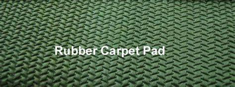 Rubber Carpet Pad   Carpet Vidalondon