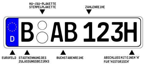 Versicherung Motorrad H Kennzeichen by Besondere Autokennzeichen Nach 167 9 Fzv Und Ihre Vorteile
