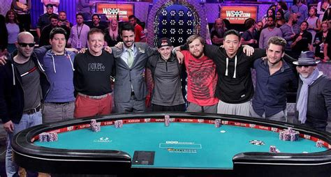 it s wsop november nine fever time as table kicks
