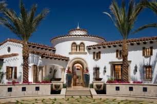Spanish revival spanish colonial mediterranean exterior