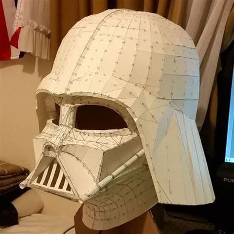 Helmet Papercraft - papercraftsquare new paper craft wars
