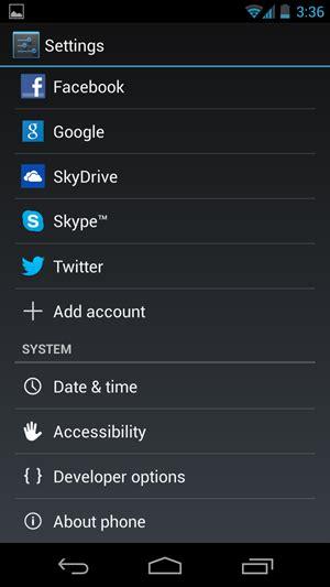 android debug mode guida android come attivare la modalit 224 debug usb opzioni sviluppatore su android 4 2 jelly
