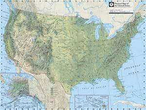 us physical map with rivers and mountains physical map of usa with rivers and mountains
