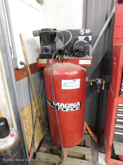 sanborn magna air compressor item da7262 sold mar
