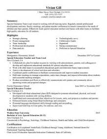 Information Technology Team Leader Sle Resume by Best Team Lead Resume Exle Livecareer