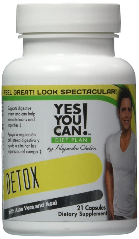 Detox De Yes You Can by Yes You Can Diet Plan Detox 21 Tablets Ebay