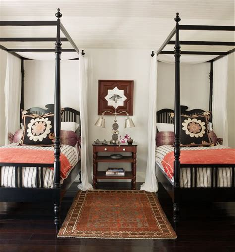 Bedroom Decorating Ideas With Four Poster Bed Inspiring Four Poster Bed Guest Bedroom Design European