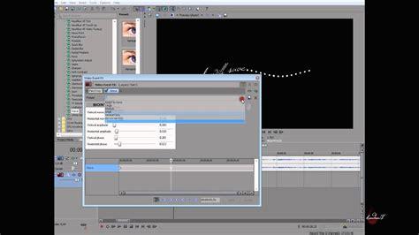 tutorial sony vegas 11 effect 11 wave text sony vegas tutorial youtube