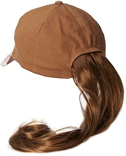 hats with attached bangs baseball cap with ponytail attached bemagical rakuten