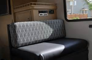 Motorhome Cushions How To Make No Sew Cer Cushions Covers Rv Redesign