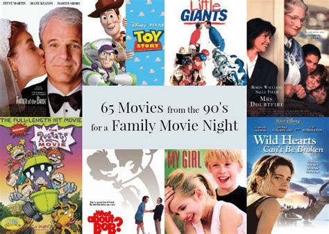recommended family film 65 movies from the 90 s for a family movie night