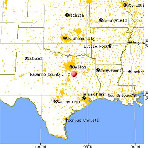 navarro county texas map navarro county texas detailed profile houses real estate cost of living wages work