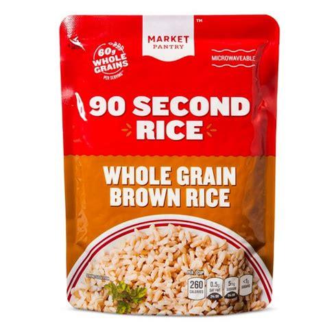 whole grains brown rice 90 second rice whole grain brown rice 8 8oz market