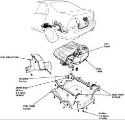 how do i change fuel pump on 1996 accord lx sedan