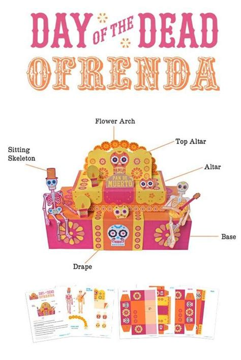 how to make an ofrenda pinterest party printables the