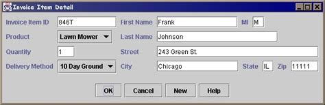 java form layout manager custom layout manager