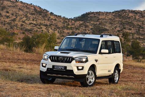 mahindra scorpio fuel economy scorpio suv s10 mahindra south africa