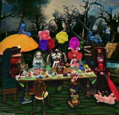 disney barbie doll house monster high alice wonderland mad hatter disney barbie doll house furniture mini the