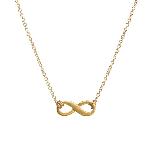 Infinite Necklace infinite necklace gold dipped dogeared