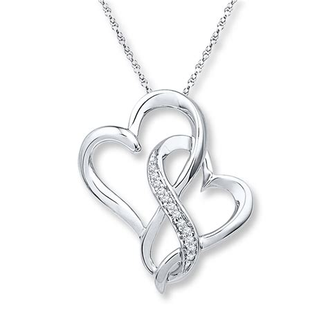 infinity jewelers jared infinity necklace 1 20 ct tw diamonds
