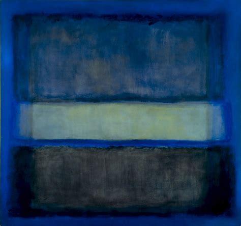 free painting no artwork by rothko white band no 27 1954