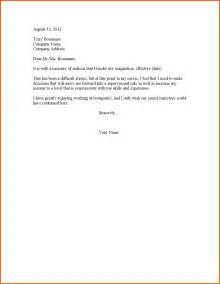 5 oneweeknoticeresignation budget template letter