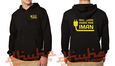 Kaos Distro Islamic Infidel jaket muslim charge your iman kaosmuslim dhuhaclothing