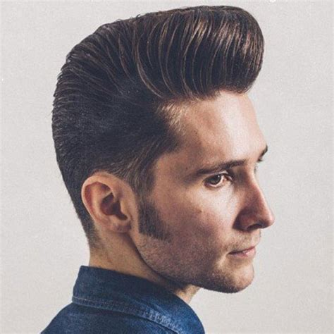 pompadour type hair styles 27 pompadour hairstyles and haircuts men s hairstyles