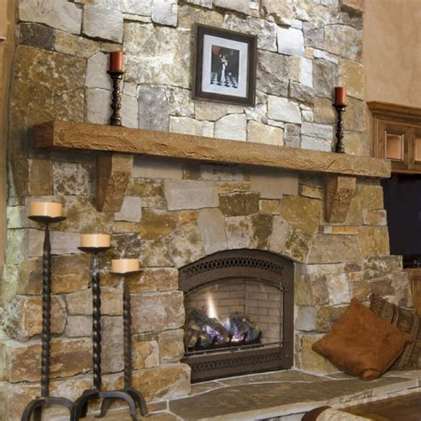 rustic stone fireplaces cast stone mantel shelf by pearl mantels at hayneedle