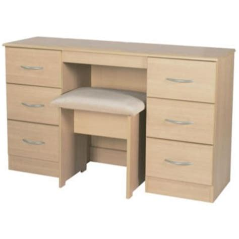 oak 6 drawer dressing table welcome furniture stratford 6 drawer dressing table in