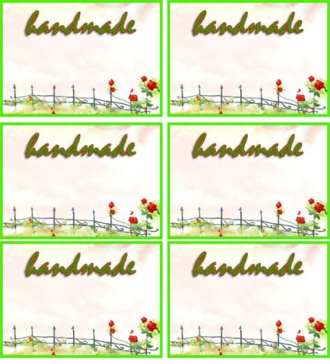 food label templates free 7 best images of free printable tags templates garden