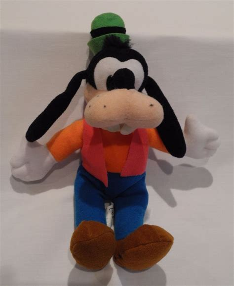 bean bag toys disneyland goofy mini bean bag brand new