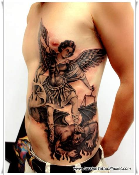 saint michael tattoo 30 st michael design ideas