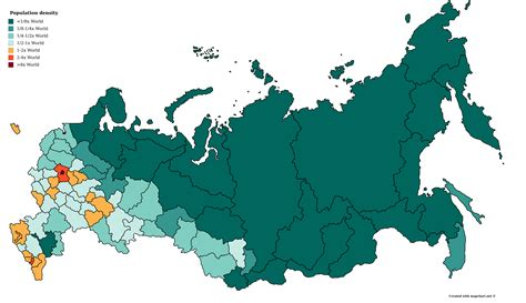 russia population density map comparative population density maps of 11 countries wywing