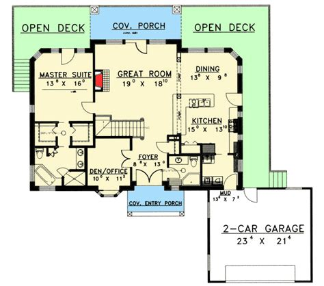 king of the hill house floor plan king of the hill 35221gh 1st floor master suite cad