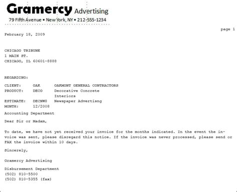Invoice Missing Letter invoice letter tire driveeasy co