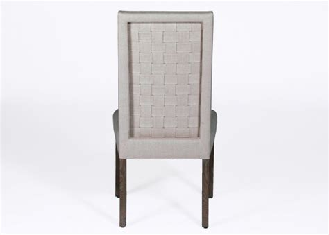Back Of Chair by Transitional Linen Dining Chair Verona Dining Chair