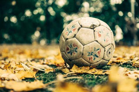 imagenes hd futbol fondo de pantalla de bal 243 n f 250 tbol hojas cesped hierba
