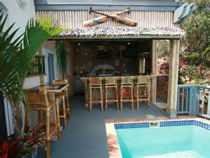 Full tiki bar and outdoor kitchen backyard paradise pinterest