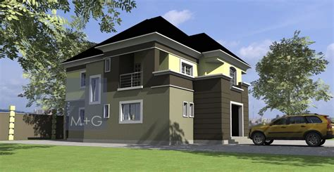 Three Story Homes by Duplex House Plans In Nigeria Home Design And Style