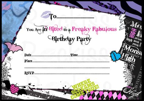 high free invitation template high invitations theruntime