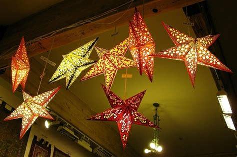 Weihnachtsstern Basteln Mit Beleuchtung 1347 by 123 Ideen Weihnachtssterne Basteln