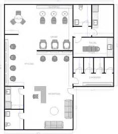 salon floor plan 1 floor plan pinterest offices doors and a small