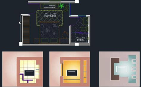 bedroom tv unit design plan n design