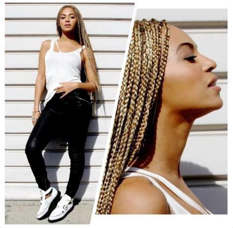 beyonce ghana weaving style beyonce blonde box braids natural hair style braids