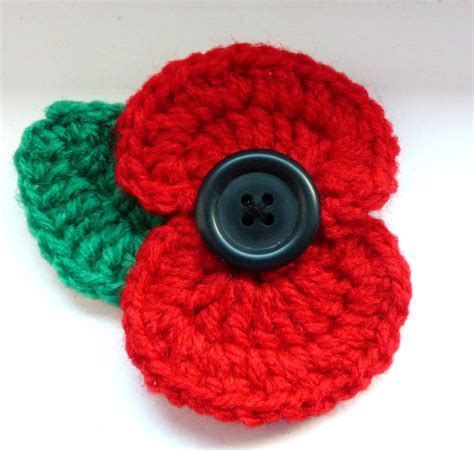 pattern crochet poppy second hand susie crochet poppy lest we forget